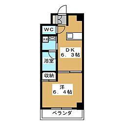 アンシャンテ[4階]の間取り