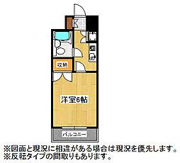 埼玉県鴻巣市赤見台2丁目の賃貸マンションの間取り
