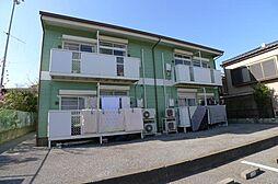 千葉県柏市名戸ヶ谷1丁目の賃貸アパートの外観