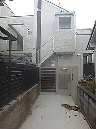 兵庫県神戸市灘区城の下通2丁目の賃貸アパートの外観