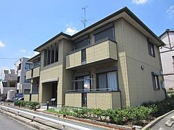 愛知県名古屋市中川区野田1丁目の賃貸アパートの外観