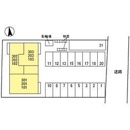 セジュールWill[3階]の外観