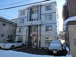 北海道札幌市東区北二十四条東16の賃貸マンションの外観