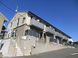 福岡県北九州市戸畑区天籟寺2丁目の賃貸アパートの外観