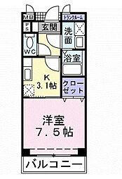 サングレイスⅡ[2階]の間取り