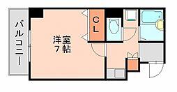 AEC天神東アネックス[3階]の間取り