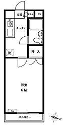 神奈川県川崎市川崎区貝塚2丁目の賃貸マンションの間取り