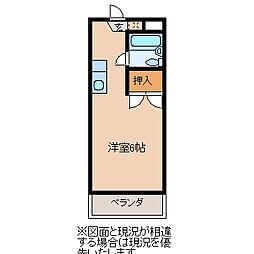 ライブコア高坂II[109号室]の間取り