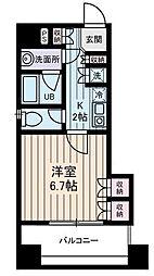 西川ビル[7階]の間取り