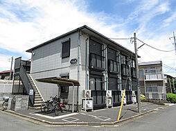 埼玉県上尾市富士見2丁目の賃貸アパートの外観