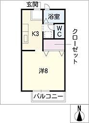 サンガーデンchuoh[1階]の間取り