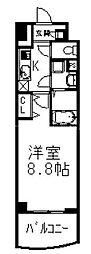ニューボンデージ[10階]の間取り