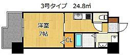 アルゴヴィラージュ浅生II[8階]の間取り
