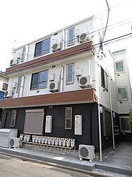 東京都練馬区平和台1丁目の賃貸アパートの外観