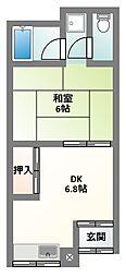 [テラスハウス] 大阪府門真市常盤町 の賃貸【大阪府 / 門真市】の間取り