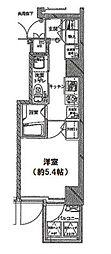 東京都大田区西蒲田7丁目の賃貸マンションの間取り