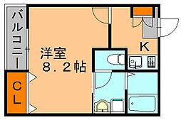 TYシャトレーII[2階]の間取り