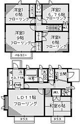 [一戸建] 神奈川県川崎市麻生区王禅寺西1丁目 の賃貸【/】の間取り