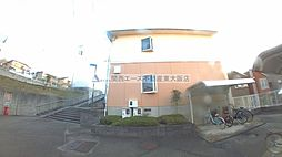 大阪府東大阪市東石切町5丁目の賃貸マンションの外観