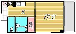 東京都墨田区菊川1丁目の賃貸マンションの間取り