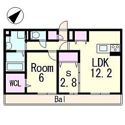 (仮称)D-room青地町ハイツ[1階]の間取り