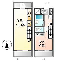 赤坂第一ビル[1階]の間取り
