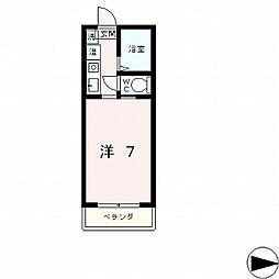 ソアール2[4階]の間取り
