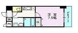 ブランブリエ京橋[8階]の間取り