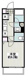 JR京浜東北・根岸線 横浜駅 徒歩4分の賃貸マンション 10階1Kの間取り