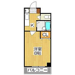 シェモア小川[303号室]の間取り