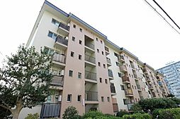 千里山田A団地A7棟[4階]の外観