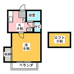 マイコーポ[2階]の間取り