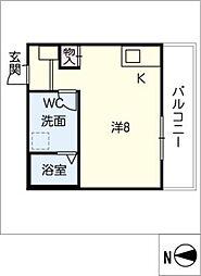 仮)新川町II 新築アパート[2階]の間取り