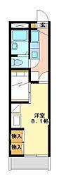 兵庫県相生市双葉3丁目の賃貸アパートの間取り