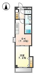 Arsa上飯田[5階]の間取り