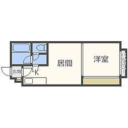 北24条駅 3.5万円
