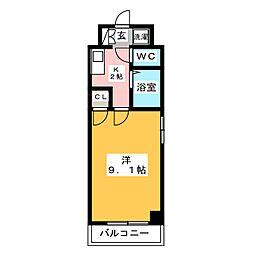 ステージ博多[7階]の間取り