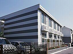大阪府大阪市阿倍野区文の里2丁目の賃貸アパートの外観