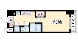 STATION COURT[9階]の間取り
