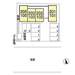 (仮)D-room八幡町[203号室]の外観