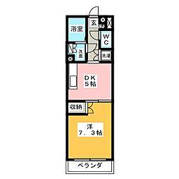 LIFE SQUARE DM110[3階]の間取り