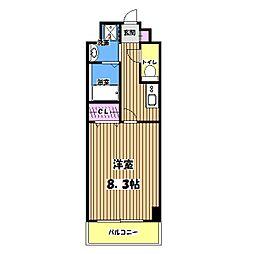 トレセリア大和田弐番館[503号室]の間取り