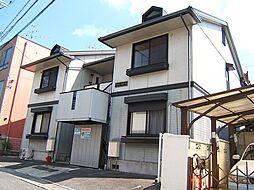 京都府京都市山科区小野弓田町の賃貸アパートの外観