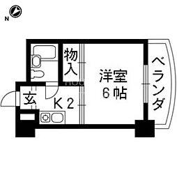 藤岡マンション[206号室号室]の間取り