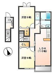 I:KM2[2階]の間取り