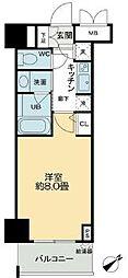QC Flat北堀江[3階]の間取り