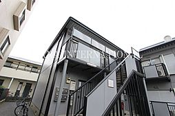 埼玉県越谷市北越谷3丁目の賃貸アパートの外観