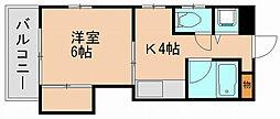 第7西田ビル[2階]の間取り