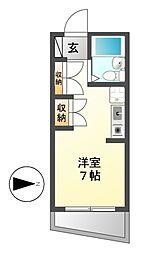アトリウム前田[4階]の間取り