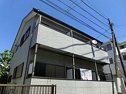 東京都豊島区長崎の賃貸アパートの外観